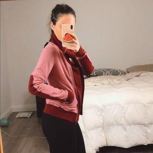 Lululemon Rare Slalom Jacket, Pink & Wine Color 2